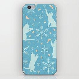festive flurry iPhone Skin
