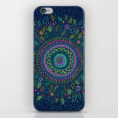 Midnight Garden Mandala iPhone & iPod Skin