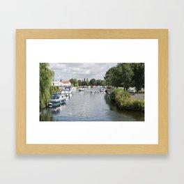 Norfolk Broads Framed Art Print