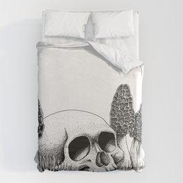 Skull & Morel Duvet Cover
