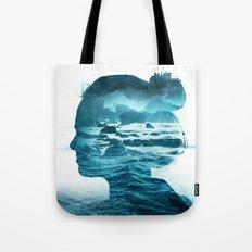 The Sea Inside Me Tote Bag