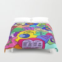 fantasy Duvet Covers featuring Fantasy by Linda Tomei