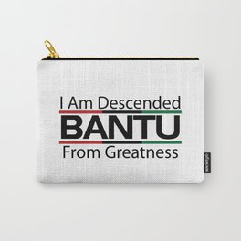 RBG/Pan-African Bantu Descended Carry-All Pouch