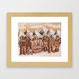 Miskatonic Antarctic Expedition of 1928 Framed Art Print