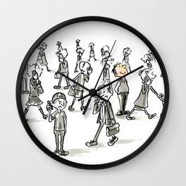 Unplugged Urban Art Wall Clock