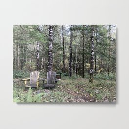 Two seats Metal Print
