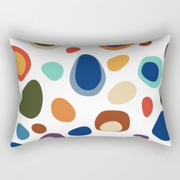 Terrazzo Abstract Pattern Rectangular Pillow
