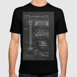 Guitar Patent Gibson Vintage Les Paul T-shirt