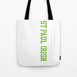 Saint Paul Irish products by Howdy Swag print Tote Bag