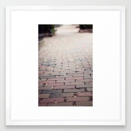 beacon hill wandering Framed Art Print