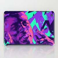 wesley bird iPad Cases featuring Wesley snipes // Bad actors v2 by mergedvisible