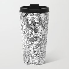 Naruto characters doodle Travel Mug