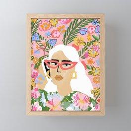Fashion Is Calling Me Framed Mini Art Print