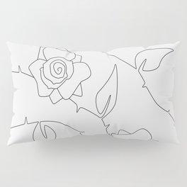Rose Bush Pillow Sham