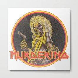IRON MURDERINO Metal Print