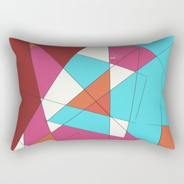 Desert Scheme Rectangular Pillow