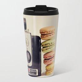 A Brownie and some macarons Travel Mug