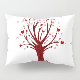 Heart Tree (2) Pillow Sham