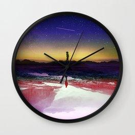 Passengers Wall Clock