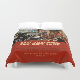Exit Through The Gift Shop - Banksy Duvet Cover