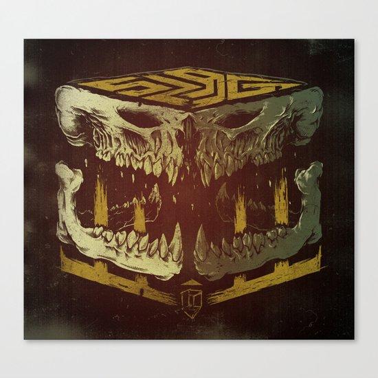 Bone Slag Canvas Print