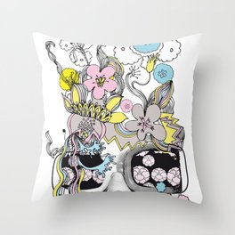 psykéwoman Throw Pillow