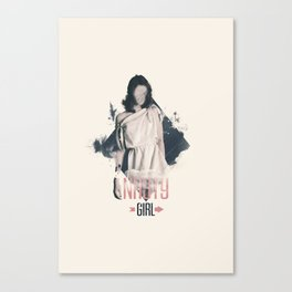 Nasty Girl Canvas Print