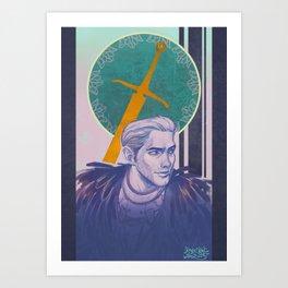 The Commander Art Print