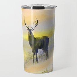 Lone Buck Travel Mug