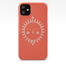 sleepy sun iPhone Case