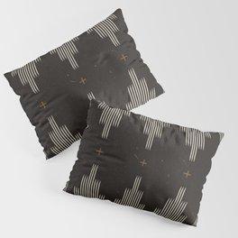 Southwestern Minimalist Black & White Pillow Sham