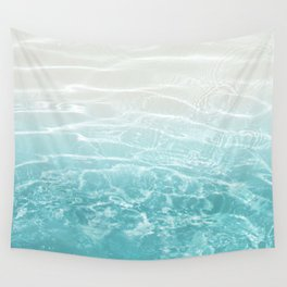 Soft Blue Gray Ocean Dream #1 #water #decor #art #society6 Wall Tapestry