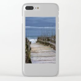 The Old Walkway Clear iPhone Case