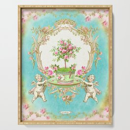 French Baroque Patisserie Tea Serving Tray