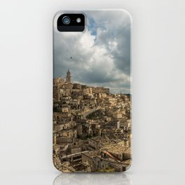 Italian landscapes - Matera iPhone Case