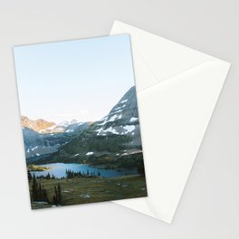 Sunset Over Hidden Lake Stationery Cards