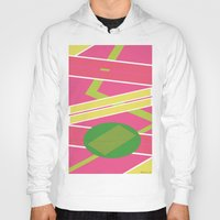 back to the future Hoodies featuring Back 2 The Future by TheArtGoon