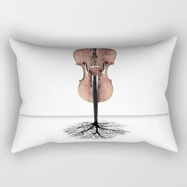 Rooted Sound II Rectangular Pillow