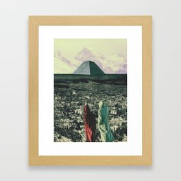 The Distant View Framed Art Print