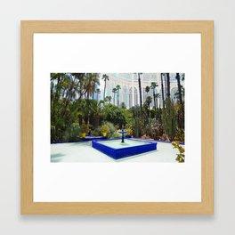 Inside Outside Garden Framed Art Print