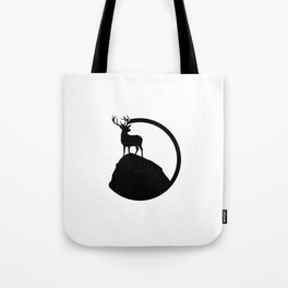 deer pose Tote Bag