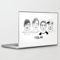 cactei Laptop & iPad Skins featuring Fidlar by ☿ cactei ☿