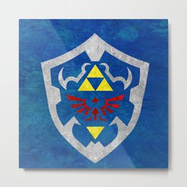 Hylian Shield Metal Print