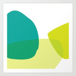 BOULDER 02 Art Print