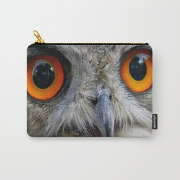 Owl Close up Carry-All Pouch