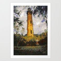 Corolla light Art Print