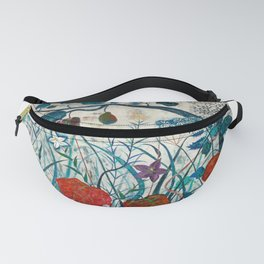 nature【Japanese painting】 Fanny Pack