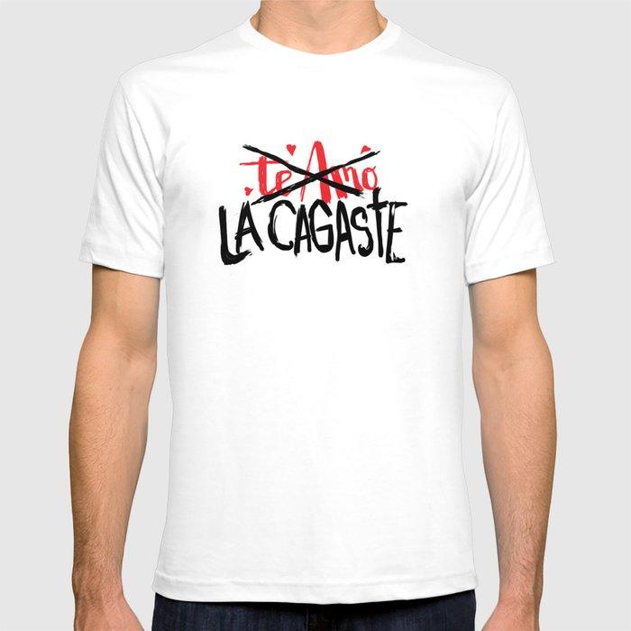 Te amo / LA CAGASTEe T-shirt