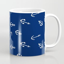 Tough Girls Wear Anchors Coffee Mug