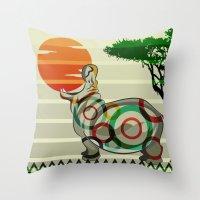 dreamer Throw Pillows featuring Dreamer by milanova